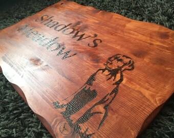 Custom Very Large Handmade Wooden Sign