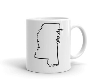Mississippi Home State - Coffee Mug