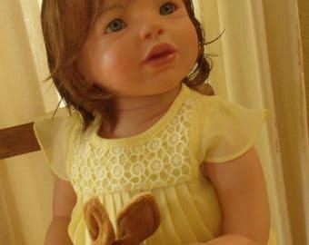 Beautiful Caroline, reborn toddler
