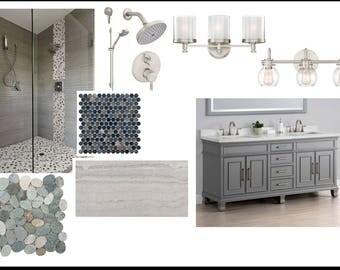 Master bathroom, Bathroom, Interior Design, E Design