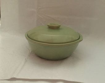 Green baking  dish