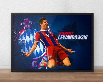 Lewandowski etsy - Poster jugendzimmer ...