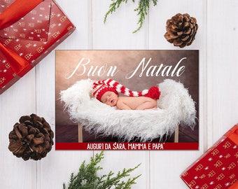 Customizable Christmas Greeting Card