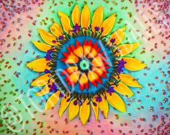 Artwork, Wall decor- Petals & Seeds DIGITAL DOWNLOAD