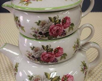 Vintage Stacking Tea Set