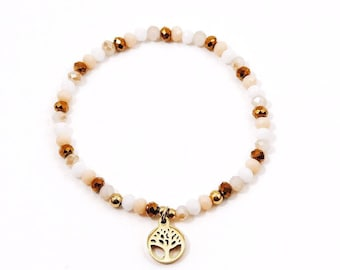 Murano bracelet/bangle with charm