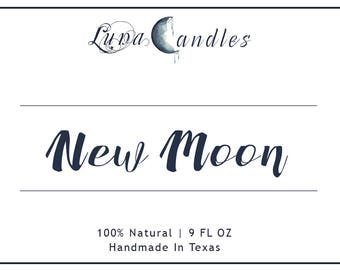 New Moon | Aromatherapy Soy Candle