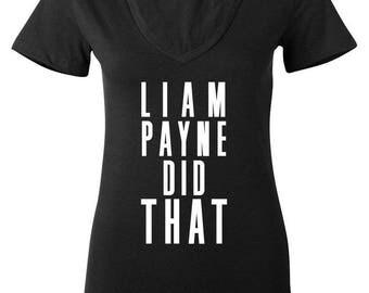 Liam Payne Did That V-Neck Shirt