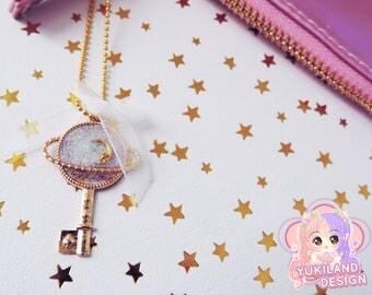 "Jewel of bag ""Planet & Galaxie"""