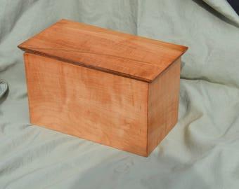 Maple Memory Box