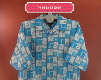 Vintage Stardom Highflyer Tshirt Slamdunk Comic Character Fullprint Blue Colour Size 2XL Comics Shirts Band Shirts Animation Shirts