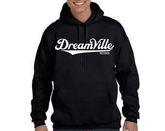 Dreamville Records Hoodie Sweatshirt J Cole Kendrick Lamar TDE Hooded Sweatshirt