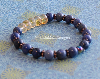 Dumortierite inspires Serenity and Peace