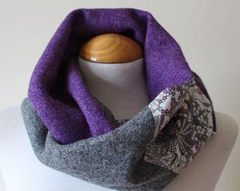 Harris Tweed Wraparound Scarf