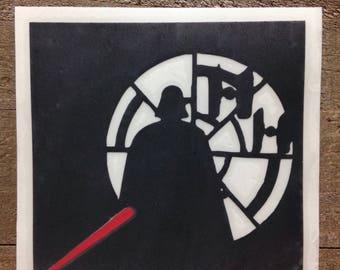 Darth Vader Star Wars Multicolored Vinyl Decal