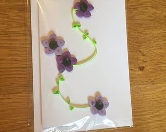 Flowers on a Vine Card
