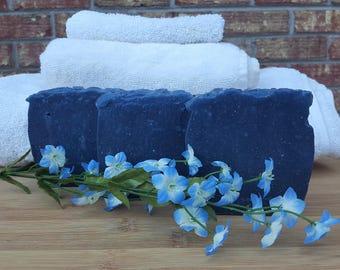 Peppermint Wintergreen Natural Body Soap, Natural Skincare, Artisan Soap, Handmade Soap, Essential Oil Soap, Homemade Soap, Rustic Soap