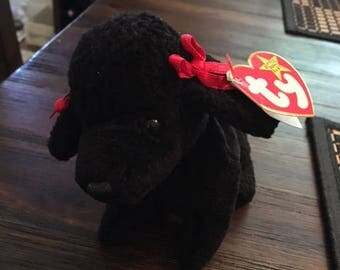TY original Collectors item Beanie Baby Gigi the poodle