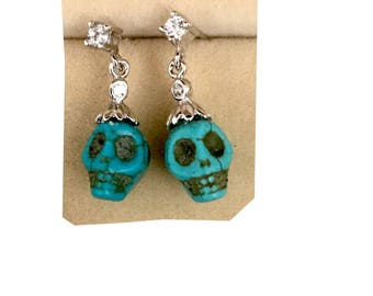 Skull Goth earrings