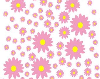 Pattern Pink Flower Digital flower texture flower