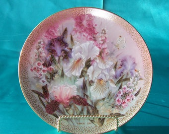 Decorative plate by Lena Liu.  W. L George fine china.