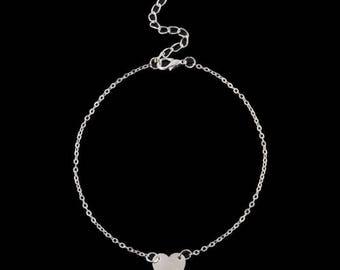 Cute ankle bracelet - schattig enkelbandje