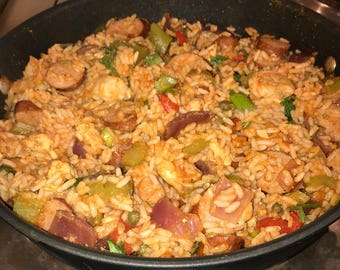 Jambalaya ~ Mild OR Spicy | Party Sizes Serve 10 or 20 | Great Crock-Pot or Holiday Dish / Overnight Delivery!