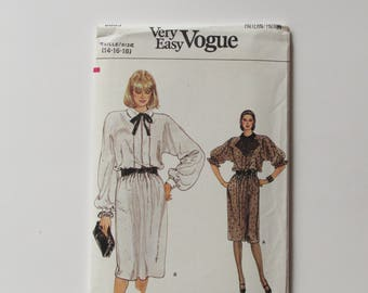 Vintage Very Easy Vogue  - Woman's Dress Pattern 8883- New