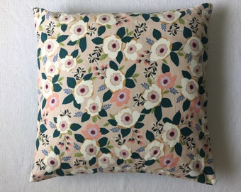 Poppy Floral Pillow
