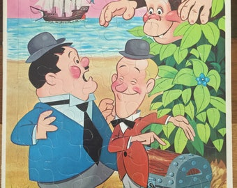 Vintage Laurel and Hardy Puzzle