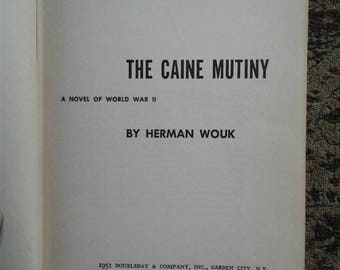 The Cain Muntiny by Herman Wouk 1951 First Edition (Rare Book)