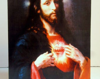 Sacred Heart of Jesus by Ponce