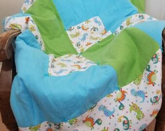 Dinosaur Child Quilt