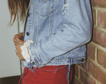 Costumized denim jackets