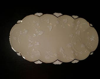 Lenox Vintage Ivory & Gold Serving Tray