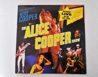 "ALICE COOPER ""the alice cooper show"" 1977 / Vinyl LP 33 T"