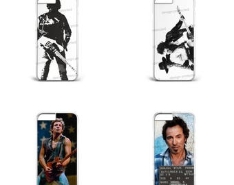 Bruce Springsteen The Boss Blk E Street Rock Music Hard Plastic Phone Case Cover For All iPhone & Samsung models