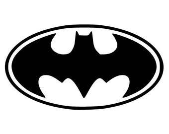 BATMAN Logo Vinyl Decal for Wall FREE Shipping YETI