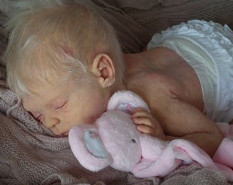 Gorgeous FULL BODY SILICONE Lifelike Ecoflex Reborn Baby Doll ~ Tiggi