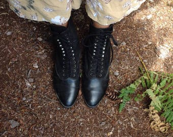 Good Witch's Black Boots