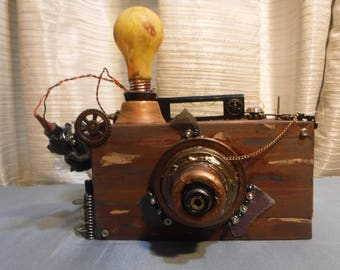 Ornamental SteamPunk Camera