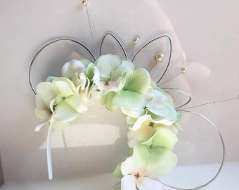 Floral Mickey Ears Princess & the Frog