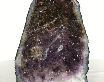 Amethyst Cathedral Geode - Large