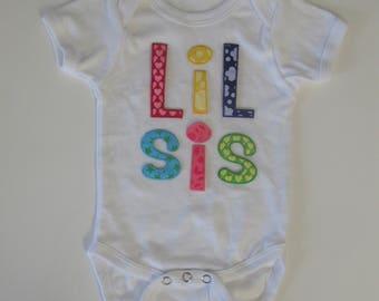 Lil Sis Baby Onesie