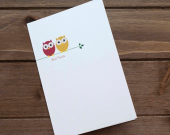 Blank Best Friends card