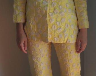 Woman Pantsuit - 2 piece Vintage