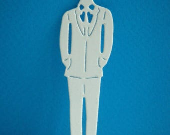 Cut paper white coloring design man you even for creation