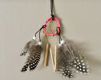 Decorative dream catcher pink
