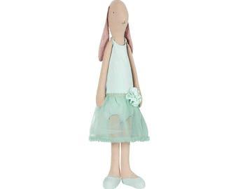 MAXI, doll, 53CMlapin, dress, girl, Maileg