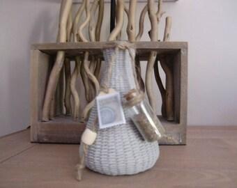Vase seaside theme